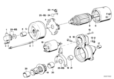 Детали стартера / Bosch.